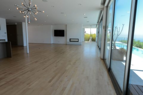 Hollywood hills refinishing maple floors