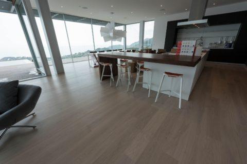 Malibu installation europian oak flooring