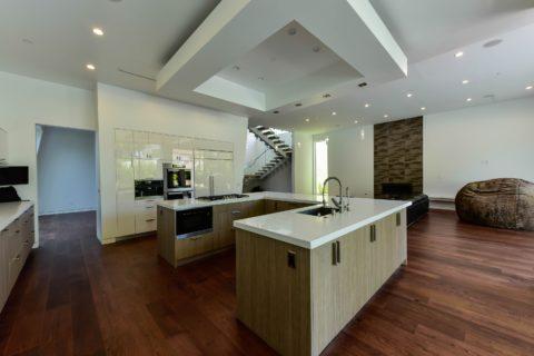 West Hollywood refinishing white oaks flooring