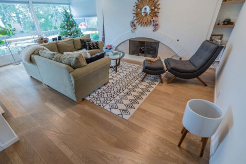 Brentwood installation of engineered floors
