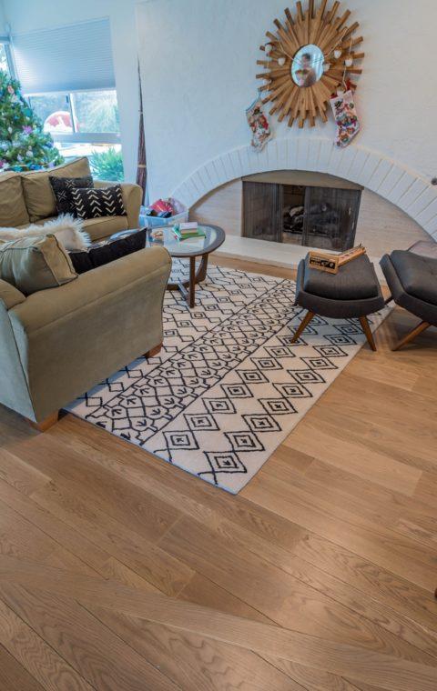 Brentwood installation of engineered floors