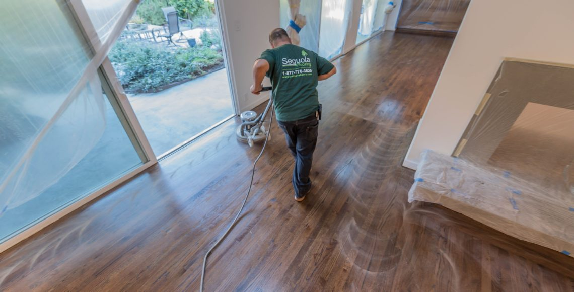 Beverly-Hills-cupped-wood-floors-refinishing-staining