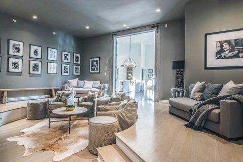 Encino Oak Floors Refinishing Staining Gray