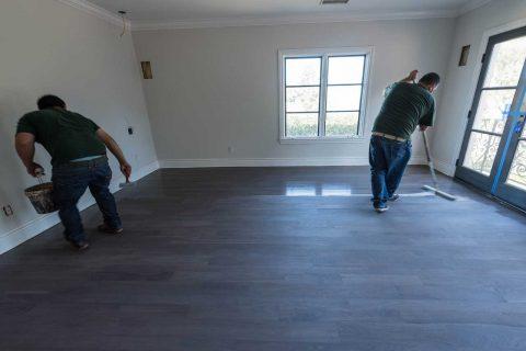 Rancho Palos Verdes Fefinishing Staining Walnut Floors