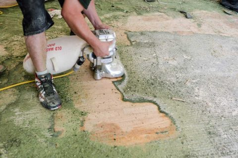 Rancho Palos Verdes Old Floor Restoration Staining and Repairs