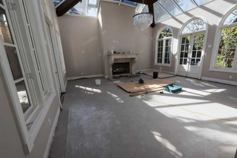 West Hollywood Wood Istallation & Refinishing to Match Existing Solid Oak Floors